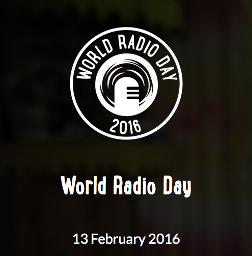 It is now available the new website of UNESCOs World Radio Day 2016 worldradioday.org