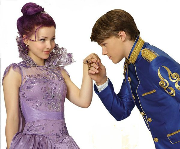 disney descendants on twitter mal and ben are a perfect couple