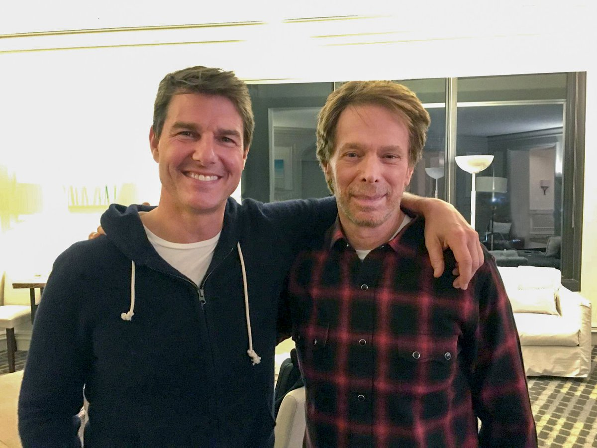 Just got back from a weekend in New Orleans to see my old friend @TomCruise and discuss a little Top Gun 2. https://t.co/vA2xK7S7JS