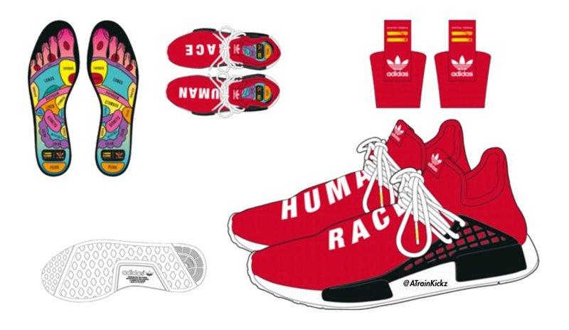 adidas Pharrell Williams PW Tennis HU Ba7828 Human Race