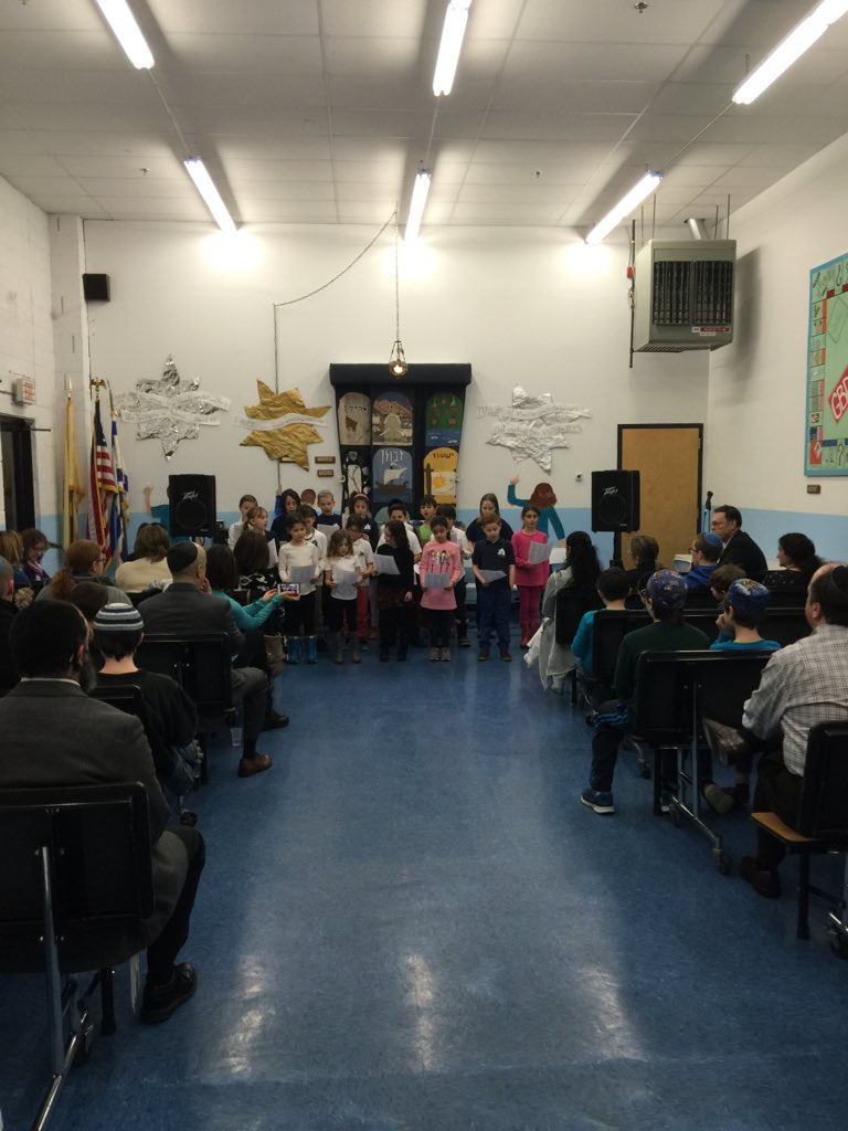 """Excited to hear the @JewishSchoolNJ choir as part of tonight's """"Town Hall""""! https://t.co/XPpUHUzGk5"""