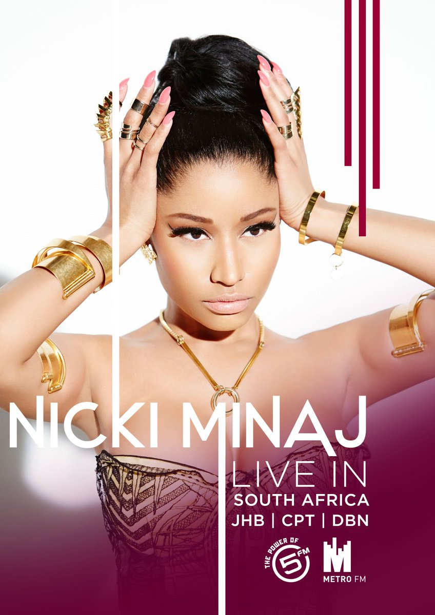 It's OFFICIAL @NICKIMINAJ is coming to SA in March! Tix available tomorrow 9am :D https://t.co/fpd9o8KEAR