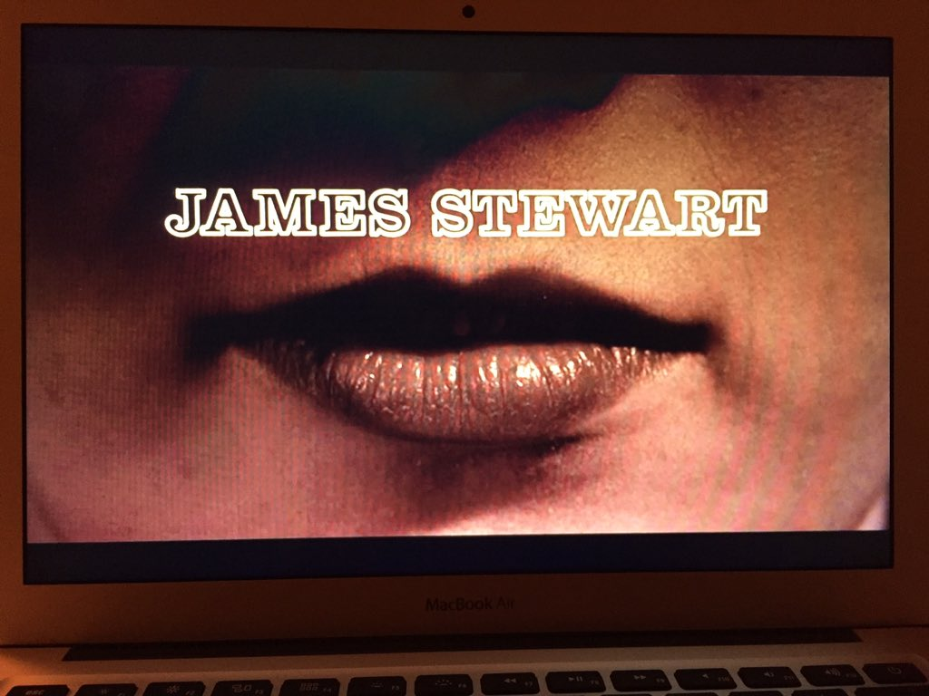 James Stewart mustache... This is going to be good #femfilm16 #vertigo https://t.co/o8tftFphSq