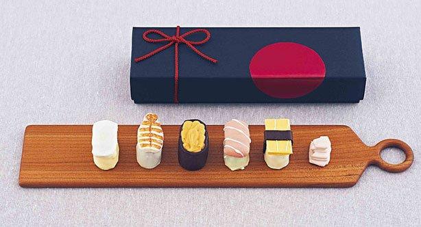 寿司をモチーフにしたチョコレートが銀座三越に!国内外約70ブランドが集まるチョコレートの祭典開催 fashion-press.net/news/21429 pic.twitter.com/N8lccG0MXr