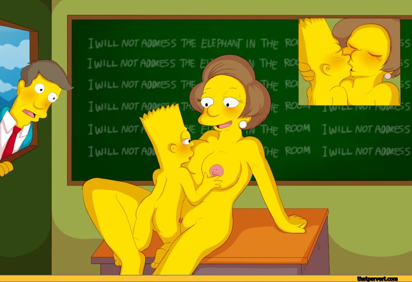 Idea opinion Mrs krabappel naked with dildo