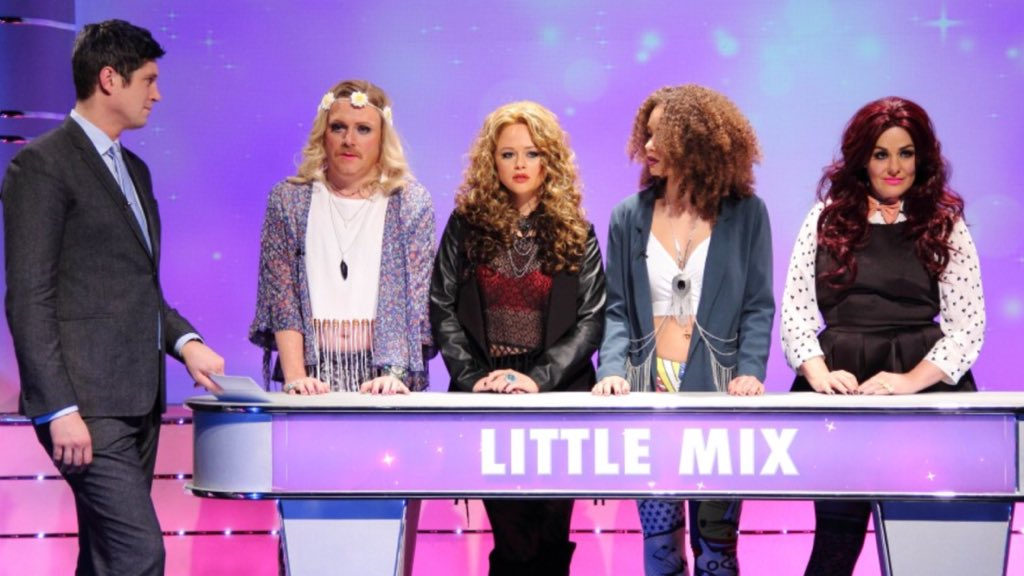 Looking forward to seeing @LittleMix on Family Fortunes with @vernonkay #keithLemonSketchshow Feb 4 @itv2 https://t.co/HHcmEZvCeW