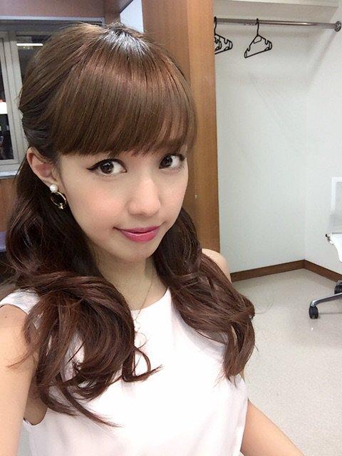 綺麗な髪型の川崎希