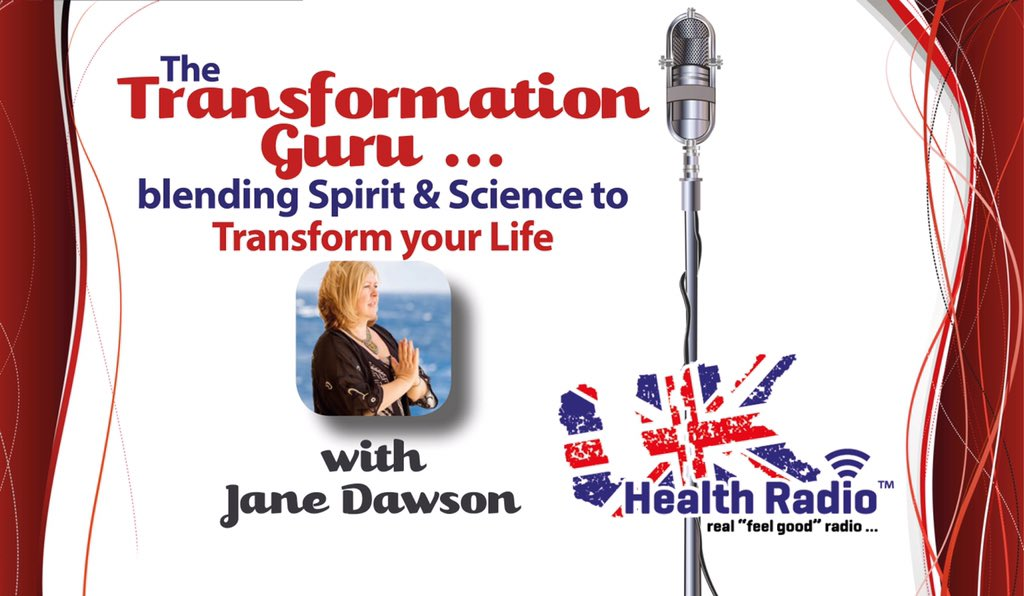 Listen to our new show - The Transformation Guru @janedawson9 on @ukhealthradio right now https://t.co/Ot4MIs7EbS