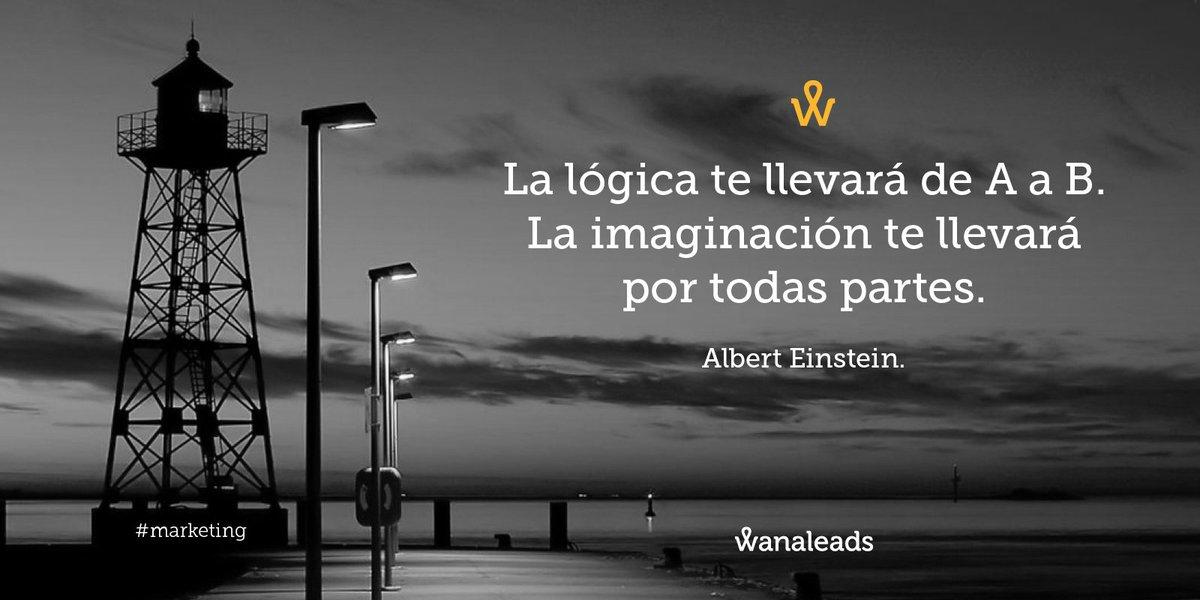 Os deseamos un #FelizMiércoles con una frase del gran Albert Einstein que en esta ocasión aplicamos al #Marketing. https://t.co/fykau6Cahg