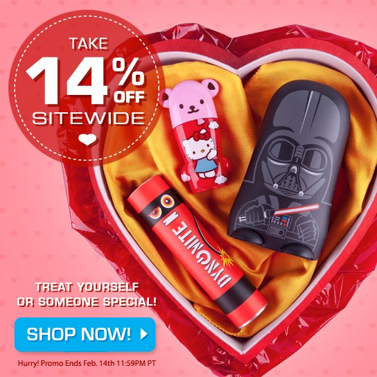 ❤️ Treat yourself or someone special w/ our Valentine's Day #sale. Take 14% off sitewide! ❤️ https://t.co/Vn0QhA5yD4 https://t.co/Tb5Bj7QwdU
