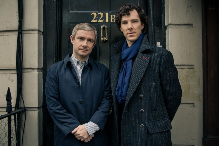 SHERLOCK a modern update finds the famous sleuth and his doctor partner solving crime in 21st century London. https://t.co/zgPfvv7s0p
