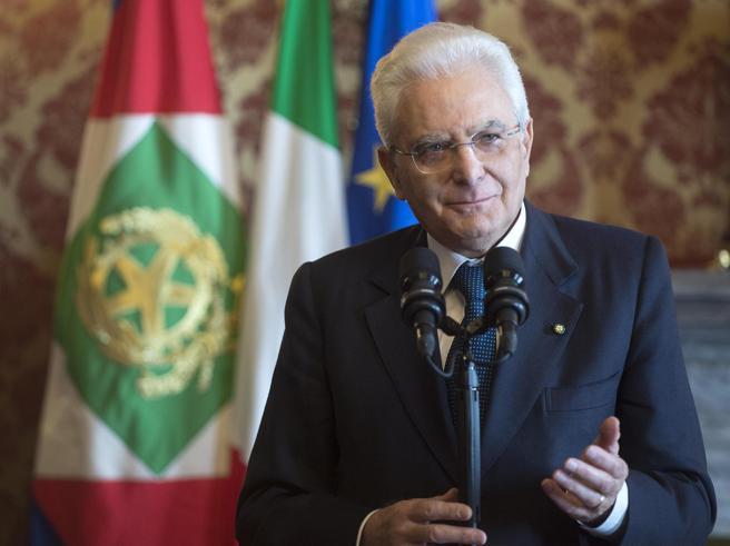 Sergio Mattarella parla nel Giorno della Memoria