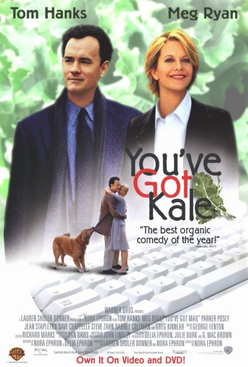 #makeamoviewhiter You've Got Kale https://t.co/afndnjBZAu