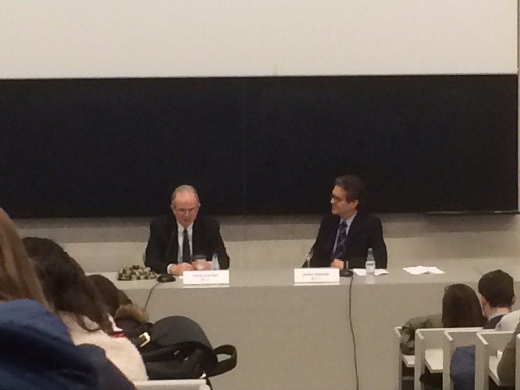 "Paul Steiger, fundador de @ProPubPR, en @fcomunav : ""You learn by DOING"" https://t.co/g4AGjw89oB"