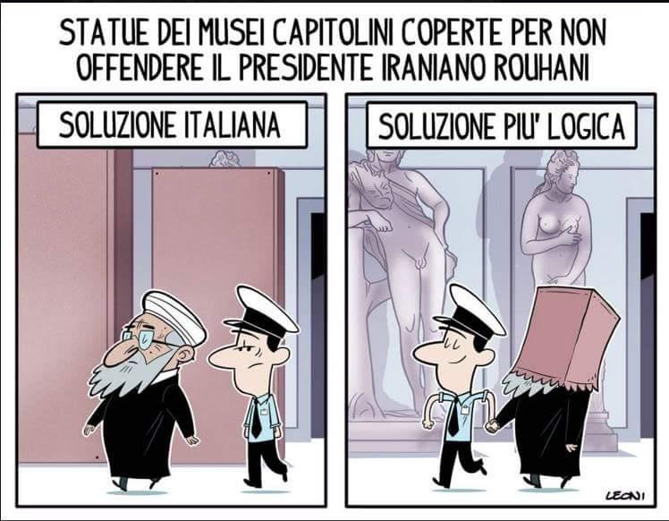 Idea per future visite dei presidenti iraniani in Italia (o dei loro simili)