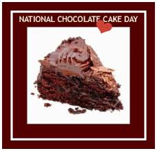 Happy National Chocolate Cake Day https://t.co/qCh2ODUE6H
