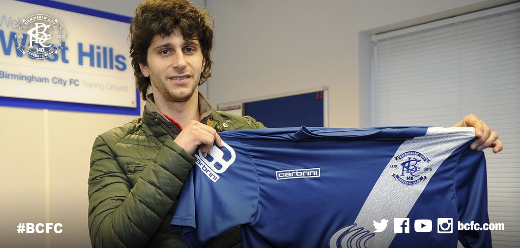 OFFICIAL: We are delighted to confirm that Diego Fabbrini has joined #BCFC in a £1.5 million deal. #FabbIsBack https://t.co/THqaCRFhf3