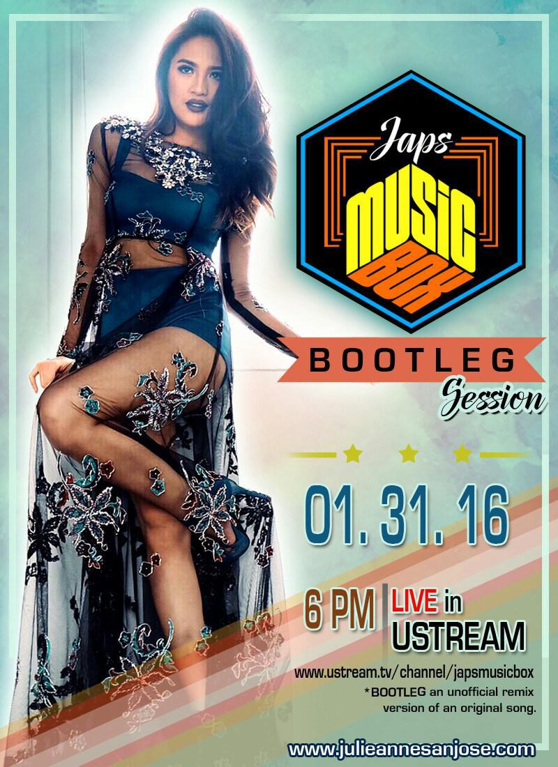 @MyJaps spread the word! spread the love! #JapsMusicBox is back! https://t.co/bwjFOQoe2o 01.31.16 6pm. https://t.co/wbsH0j6lnq