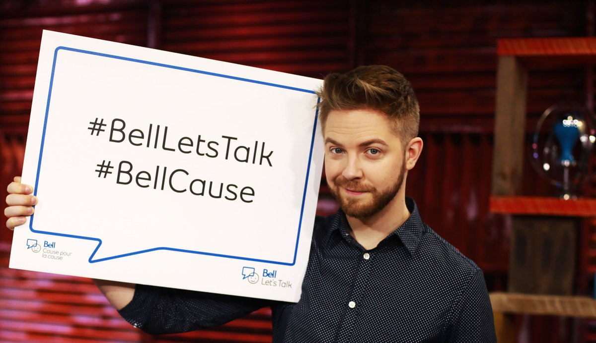 End the stigma. #BellLetsTalk RT or Tweet with #BellLetsTalk to raise $ for Mental Health in Canada https://t.co/UIHzqXgICH