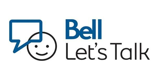 It's #BellLetsTalk Day. Bell will donate 5 cents to mental health initiatives every time this logo is shared.