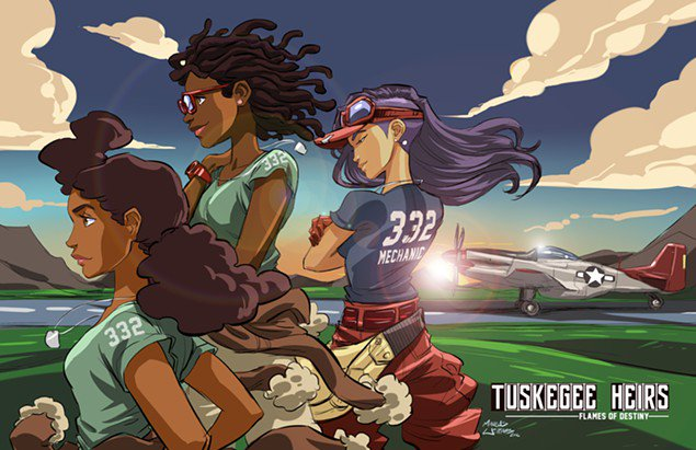 New graphic novel @TuskegeeHeirs to take Tuskegee Airmen to new heights: https://t.co/BswQXAnY3F #ATLarts https://t.co/fvbpmRo2Tm