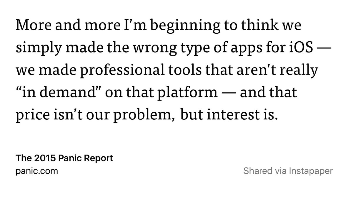 Almost 8 years into iOS as a computing platform, this is a problem for Apple: https://t.co/JI6n5RkFUi https://t.co/nnVExO9gDQ