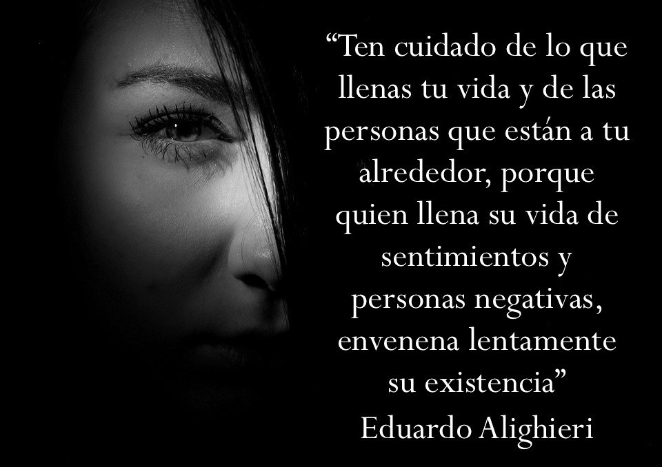 Eduardo Alighieri On Twitter Las Personas Negativas Están