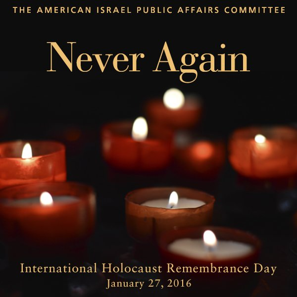 Never again. #HolocaustRemembrance https://t.co/Md70hnkwXp