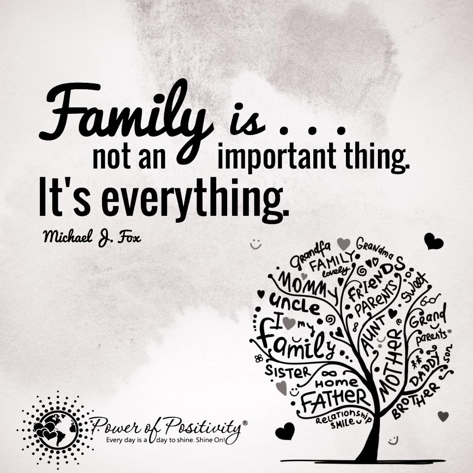Why Family Is Important Quotes: Family.. Not An Important Thing. It's Everything