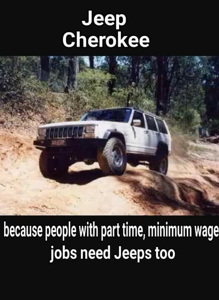 Admiral Off Road On Twitter Harsh But Very Funny Source Offroad Memes On Facebook Xj Cherokee Https T Co Qwziwmx