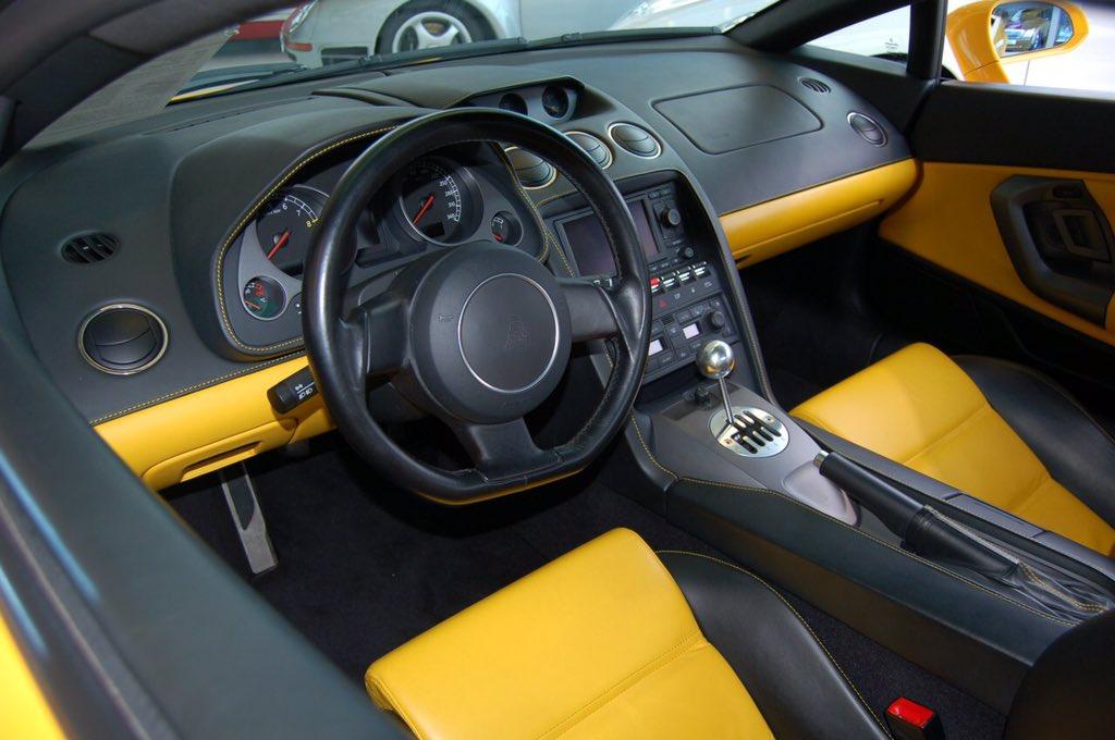 Carswithin On Twitter Hello Everyone Lamborghini Gallardo Interior Yellow Two Tone Leather Seats And Dash Https T Co 2qeuab2kbn