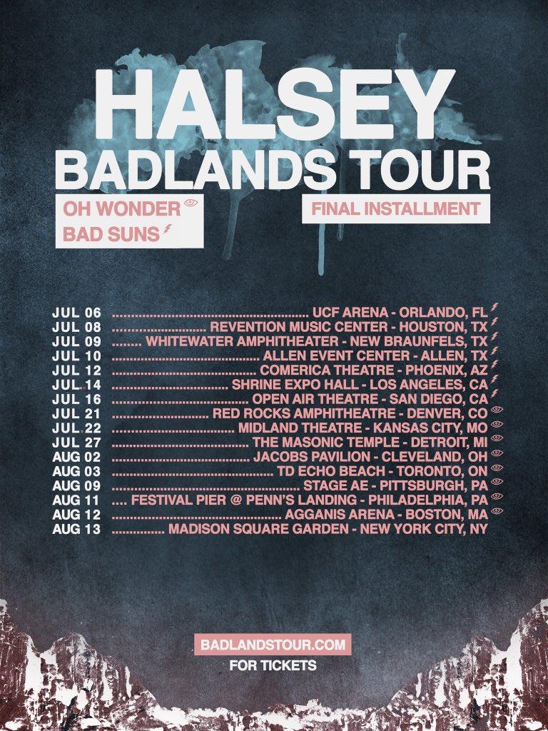 h on twitter quotthe badlands tour usa final installment