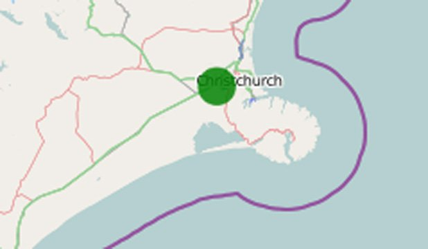 #BREAKING: 4.1 magnitude quake, 16km deep, 10km west of Christchurch. More soon https://t.co/MAQpHeto0m #eqnz https://t.co/NoyJcqfT1M