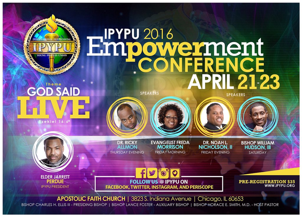 Register today for our Empowerment Conference which will be held in Chicago, IL April 21-23 https://t.co/m95QBvurTP https://t.co/WEOvKAwFxc