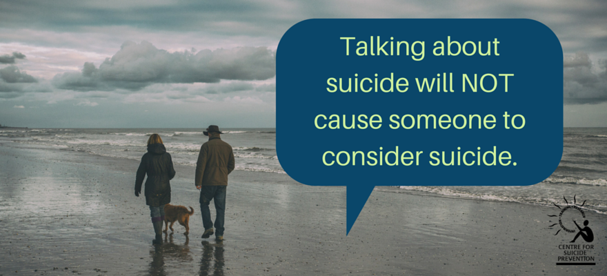Myth: Talking about suicide will make someone consider suicide: https://t.co/YRdUiyw1aZ  #BellLetsTalk https://t.co/asFAsg37cI