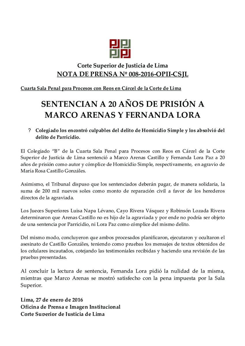 CSJ de Lima on Twitter: \