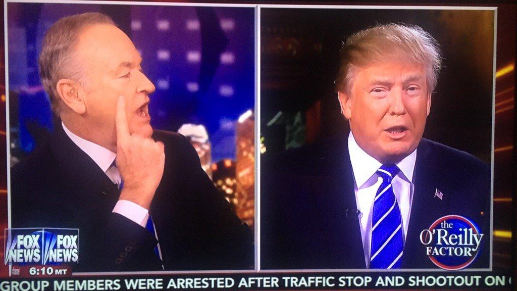 Groveling O'Reilly to Trump: You owe me so do debate