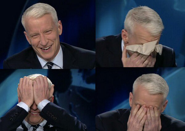 Why did Anderson Cooper member of Clinton Global Initiative moderate debate?