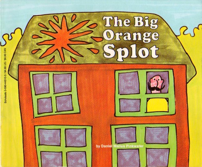 Hey #weirded! Sean in St. Augustine, FL, 3rd Grade, Ridiculous. Fave book, The Big Orange Splot by @DanielPinkwater https://t.co/1aex7AvtEe