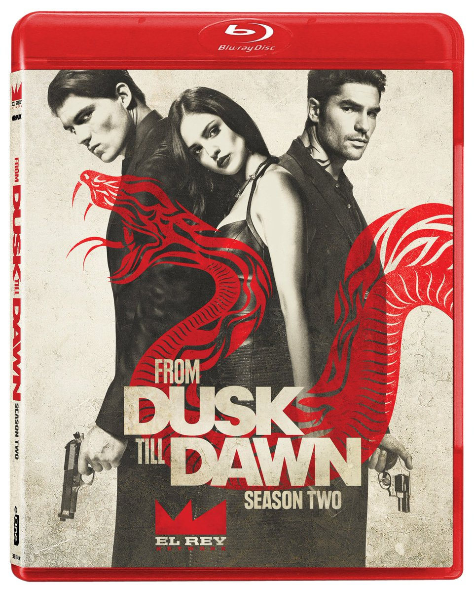 Giving away 3 copies of #FromDuskTillDawn s2! Follow & RT 2 win! Preorder @: https://t.co/SHDKRnSgAz @DuskElRey https://t.co/r1Hrox6a5i