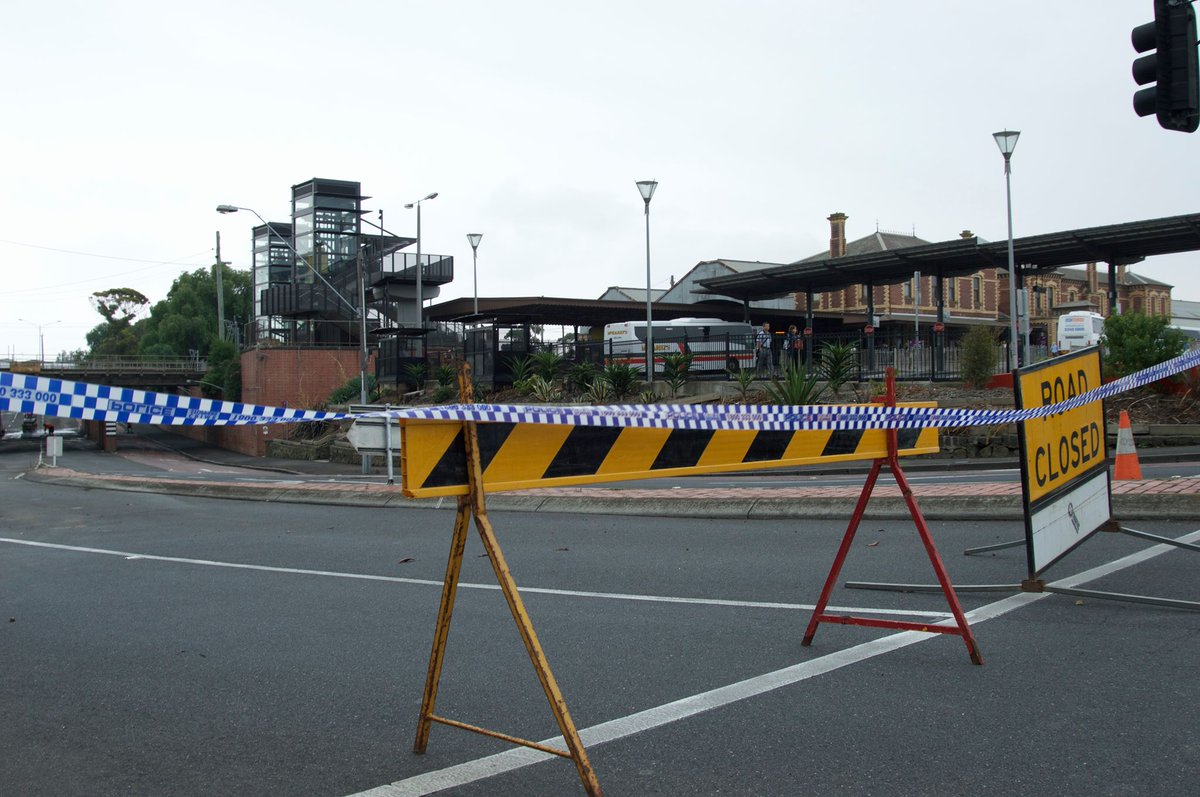 Geelong Railway Johnstone Park Workers Clean Damage Left Yesterday Freak Storm Geelong Railway Station Johnstone Park News Nine News Melbourne Scoopnest