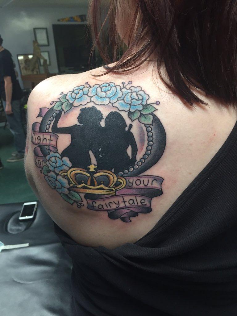 Alicia jmorriswen twitter for Jennifer morrison tattoo