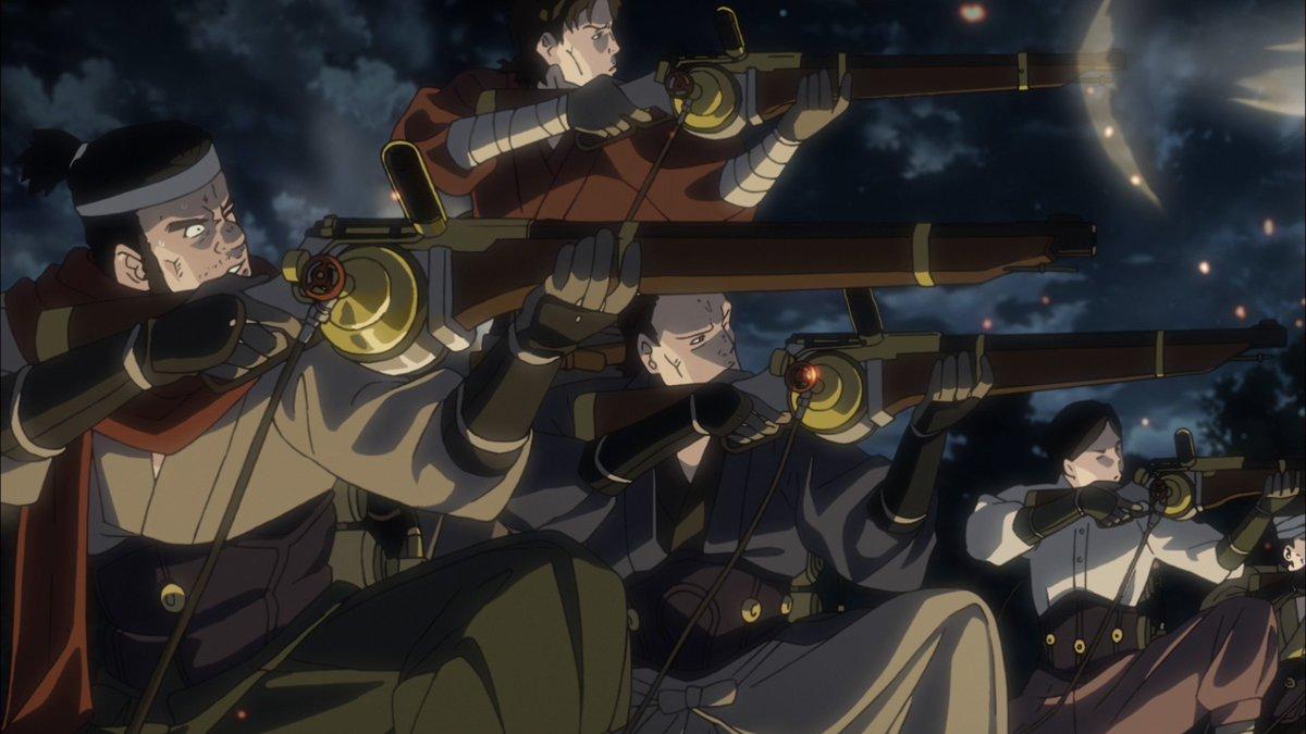 武士たちの蒸気銃