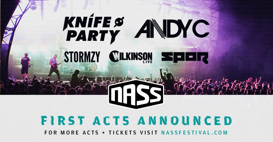 Here it is, your first NASS 2016 line up announcement. Final headliner + more acts TBA https://t.co/8xDpAyvgbg https://t.co/mhVM2ul1sl