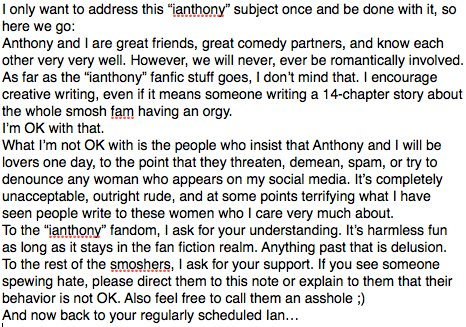 """My thoughts on """"ianthony"""" are as follows... https://t.co/lqNyAVsY8n"""
