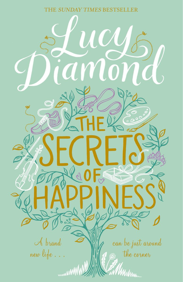 The Secrets of Happiness is out in hardback and ebook TODAY! Hope you enjoy it if you treat yourself to a copy :-) https://t.co/5EulUy2ZIB