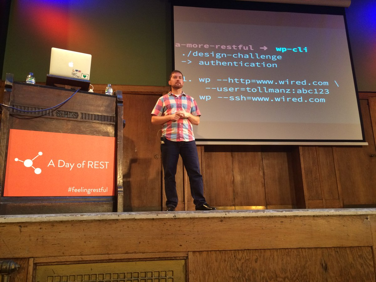 Uh oh @tollmanz, time to change your password. @danielbachhuber just published it in plaintext. #FeelingRestful https://t.co/up45exbKZy