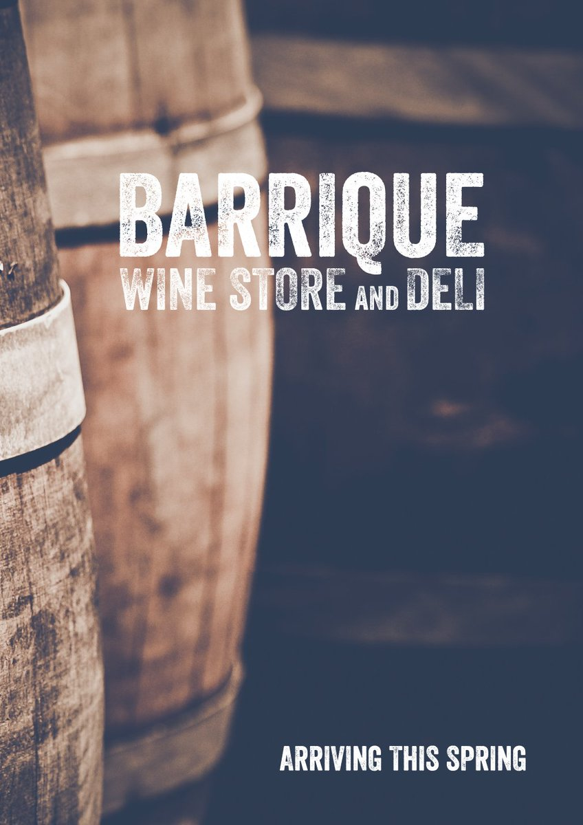 Barrique On Twitter We Re So Excited To Announce Our New Wine Shop Opening In Lytham This Spring More Exciting News Coming Soon Https T Co Amcmuhogug