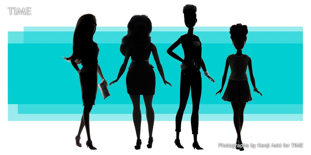 Barbie got back! See the doll's three new body types
