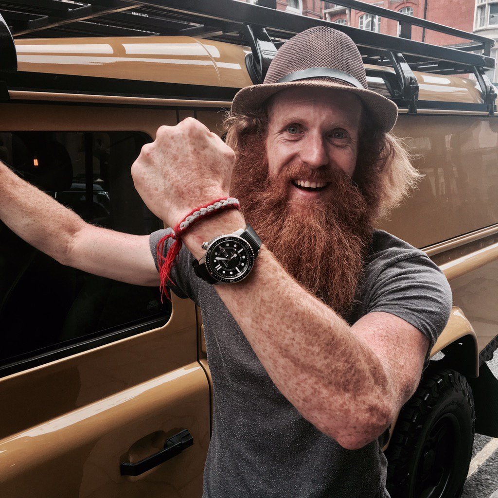 Great have the incredibly inspiring @Conway_Sean talking at the @Bremont #BAC tonight.  What a wonderful chap. <br>http://pic.twitter.com/ePv2ie6aTE